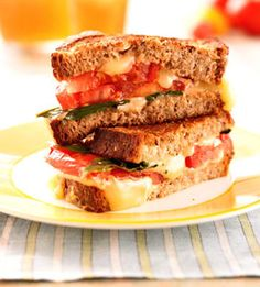 Slices of fresh tomato jazz up plain grilled cheese sandwiches. This kid-favorite recipe uses just five ingredients and can be ready in less than 30 minutes.