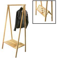 portable folding clothes rack