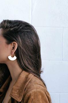 Lulus | Mireya Gold Earrings