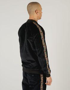 Maharishi | Liberty Dragon Track Jacket · British Velvet Liberty, Personal Style, Track, Dragon, Velvet, Jackets, Down Jackets, Political Freedom, Runway