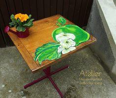 "Upcycling: Gartentisch ""Apfel"""