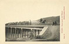 general Gómez Jordana mandó levantar un puente sobre el río Mehazni para facilitar a las tropas el acceso a las posiciones del monte Gorgues.