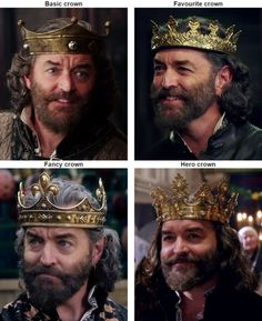 Some crown inspiration.  And yes, Galavant is totally a relevant source of inspiration.