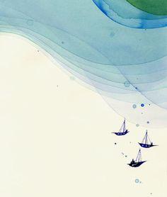"""""""Sea"""" by Nomoco. beautiful!"""