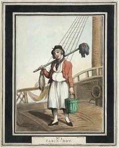 Michiel ging voor het 1ste de zee op als hoogbootsmansjongen, hij was toen 11