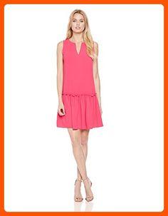 Trina Turk Women's Yarrow Drop Waist Dress, Soiree Pink, 0 - All about women (*Amazon Partner-Link)