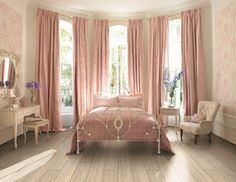 Pretty In Pink... Keep the pinj, just give me the celing to floir windows!! Please