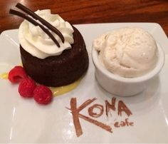 Gluten Free in Orlando: Kona Cafe Dinner -- Disney's Polynesian Resort.  We loved the Pan-Asian noodles, chocolate lava cake, and the banana-chocolate creme brulee.
