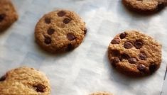 Cookies de Avena con Chocolate Muffins, Chips Ahoy, Healthy Options, Flan, Real Food Recipes, Snacks, Breakfast, Sweet, Desserts