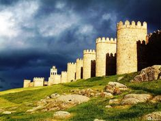 Avila, España. Conan the Barbarian was filmed here b/c it is one of the only…