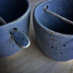 Stonewash Blue Mozzy Pots SOLD #pottery #potterylottery #ceramics #mozzypots #australianceramics #handmade #homewares #blue#stoneware #stonewash #handcrafted #handmadeceramics #burleigh #goldcoast
