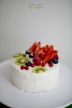 Cake Framboises Citron