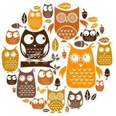8 different owls plus icons... best so far...