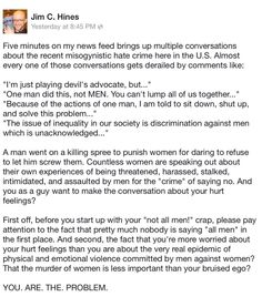 Nailed it. #YesAllWomen pic.twitter.com/e8Su8SlQsA