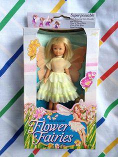 Vintage Hornby Flower Fairies 1983 GUELDER ROSE by LittleToyLost