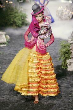 londonwarrior:    Color me pretty    christian Dior 2005