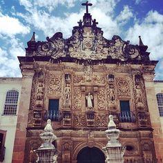 Igreja da Ordem terceira de São Francisco. Antiguidade do século XIX. #pelourinho #Bahia #Salvador  #Linda #brasil #seculoxix