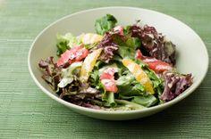Alzheimer's-Fighting Spinach-Walnut-Citrus Salad