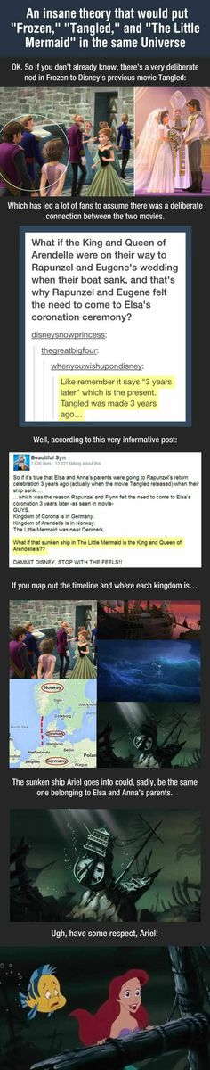 Wow. Disney is very clever. This is a huge plot twist...