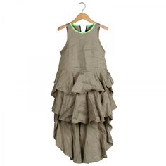 Linen Tiered Dress - Ter et Bantine