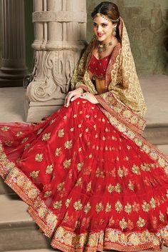 Bridal/Wedding Wear Saree