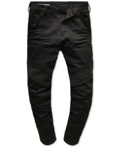 b952caf7 G-Star Raw Men's Black Moto Jeans, Created for Macy's & Reviews - Jeans -  Men - Macy's