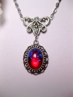 Dragon's Breath Fire Opal Art Nouveau por FashionCrashJewelry, $24.00