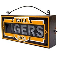 Decorative Missouri Tigers light