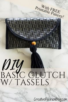 2be5ab7f2414 DIY Basic Clutch sunglasses holder with FREE pdf printable pattern. Make  this easy pouch in