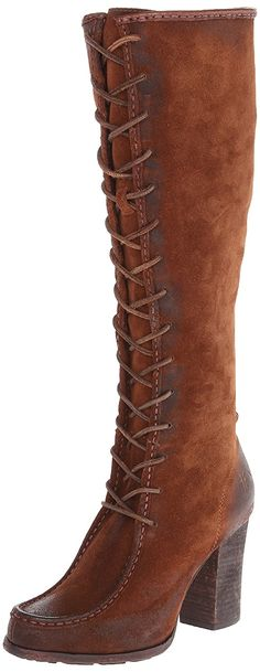 FRYE Women's Parker Moc Tall Riding Boot *** For more information, visit now : Boots