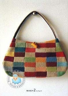 мешок вязания крючком с помощью latonya