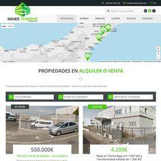 navestenerife.com Empresa dedicada al alquiler y venta de naves industriales. Esta Web se adapta a todos los dispositivos, gracias a su sistema Responsive Web Design. #web_design #web #paginas_web #web_las_palmas #web_canarias #paginas_web_las_palmas #paginas_web_canariasempresa