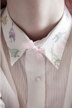 Not saying I'd wear it... But damn, that's a mighty fine collar o' cats you've got there. ;)