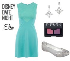 No matter where your next date may be look cute and chic with this style inspired by Queen Elsa #Disney #style #Frozen