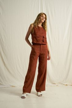 Arthur Apparel - shop all women's casualwear online here. Minimal Dress, Minimal Outfit, Loungewear Set, Linen Dresses, Handmade Clothes, Outfit Sets, Ideias Fashion, Summer Outfits, Sewing Projects