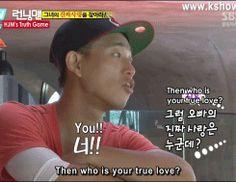 Running Man :  Monday Couple. Aww Gary & Jihyo