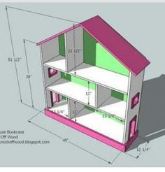Plans for dollhouse