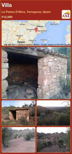 Villa for Sale in La Palma D'Ebre, Tarragona, Spain - A Spanish Life Andorra, Bilbao, Valencia, Tarragona Spain, Barcelona, Best Track, Post Office, Acre, Terrace