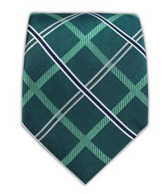Millburn Plaid - Green Teal | Ties, Bow Ties, and Pocket Squares | The Tie Bar