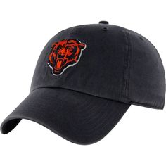 0e119371e2  47 Men s Chicago Bears Navy Clean Up Adjustable Hat