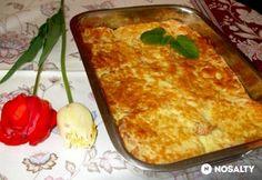 Tepsis bundás kenyér | NOSALTY My Recipes, Recipies, Quiche Muffins, Hungarian Recipes, Hungarian Food, Breakfast At Tiffanys, Lasagna, Entrees, Macaroni And Cheese