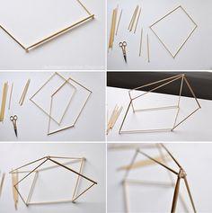 Geometric Pendant Lamp steps