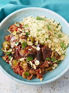 vegetable recipes Incredible Sicilian aubergine stew with couscous Vegan Recipes Easy, Vegetable Recipes, Vegetarian Recipes, Cooking Recipes, Vegan Couscous Recipes, Vegan Dishes, Pasta Fusilli, Food Inspiration, Dinner Recipes