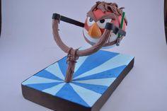Luke Skywalker Angry Bird's Cake - Cake by Novel-T Cakes