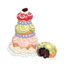Close up of Mendl's Courtesan Au Chocolat #FoodStudy