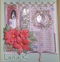 Crafter's Key: Christmas Card with Mirri Window