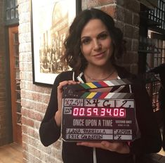 Lana Parrilla: It's a wrap! Had the greatest time directing #onceuponatime I'm so grateful and honored to have had this opportunity on a show I call HOME ❤️ #director #grateful #femaledirector #blessed #ouat #evilregals