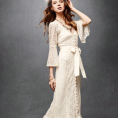 Hippie Bohemian Wedding Dress Los Angeles Hippie wedding dress