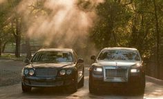 Bentley or Rolls...either one for me, thanks!