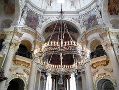 Interior of Church of St Nicholas, Old Town Prague. Prague Old Town, Top Site, Walking Tour, Interior, Indoor, Interiors